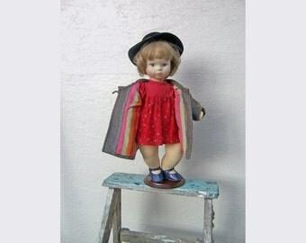 Handmade Fabric Art Doll