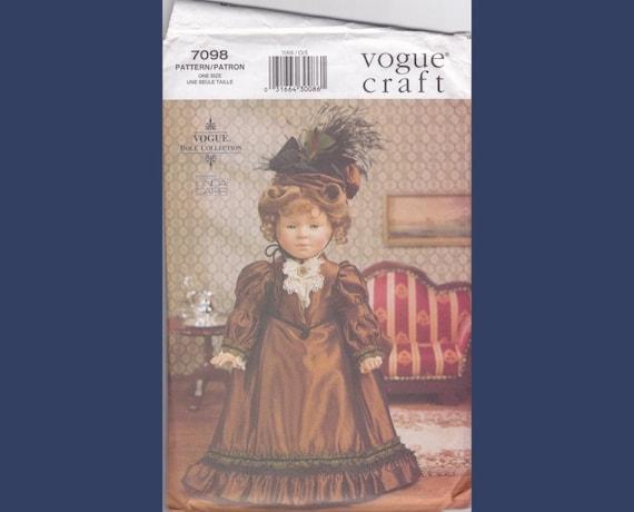Fashion Doll pattern - End 19th Century