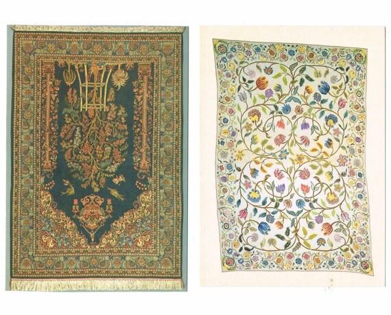 12  Carpet / Rug Postcards - Balkan, Turkey, Iran