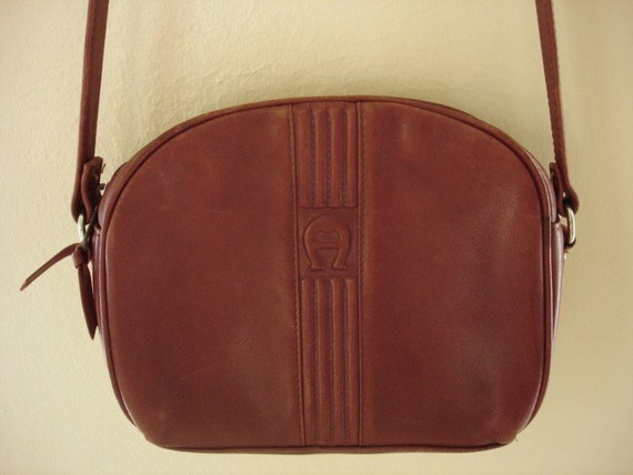 SALE - Small Leather Etienne Aigner Purse