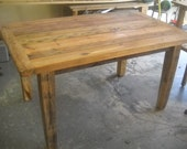 Handmade Farm Table ready for delivery