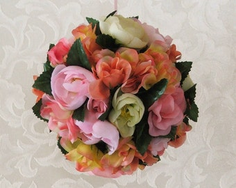 Kissing Ball Muli-color Sweetheart Roses for your Valentine