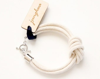 Rope Bracelet - Knot Bracelet - I Love Knots - The Original - As Seen In LuckyMag