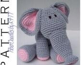 INSTANT DOWNLOAD : KISS Series - Elephant Crochet Pattern