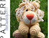 INSTANT DOWNLOAD : Handful of Lion Crochet Pattern