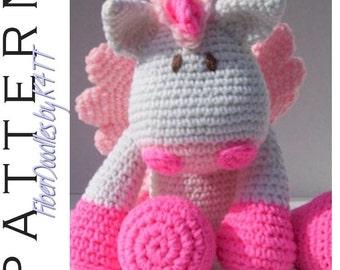 INSTANT DOWNLOAD : KISS Series - Pegasus Crochet Pattern
