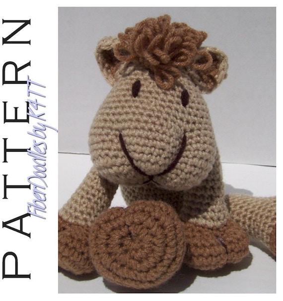Crochet Kiss Stitch : CROCHET PATTERN KISS Series Camel by FiberDoodlesbyK4TT on Etsy