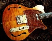 The Ranger: hand made t-style electric guitar