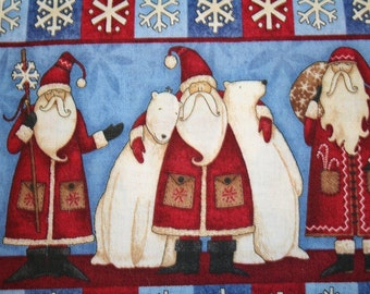 "OOP Debbie Mumm ""Artic Holiday""  Cute Christmas Holiday Santa & Polar  Bear"