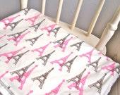 Belle Paris Baby Blanket, Minky