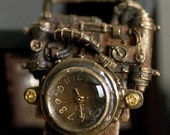 steampunk MECHATOPIA 2 antique style watch