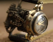 steampunk MECHATOPIA 1 handmade antique style watch