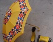 Vintage Retro Umbrella