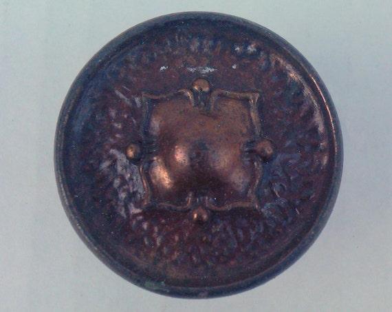 Vintage Hardware: Solid Brass Medallion Drawer Pulls