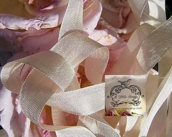 Rayon Seam Binding Ribbon Croquette Beige