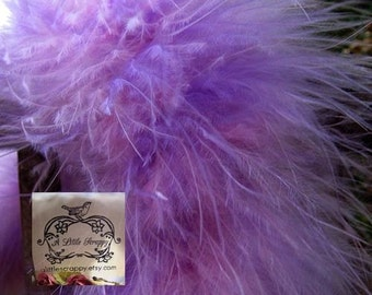 Purple and Pink Mix Marabou Boa Feathers