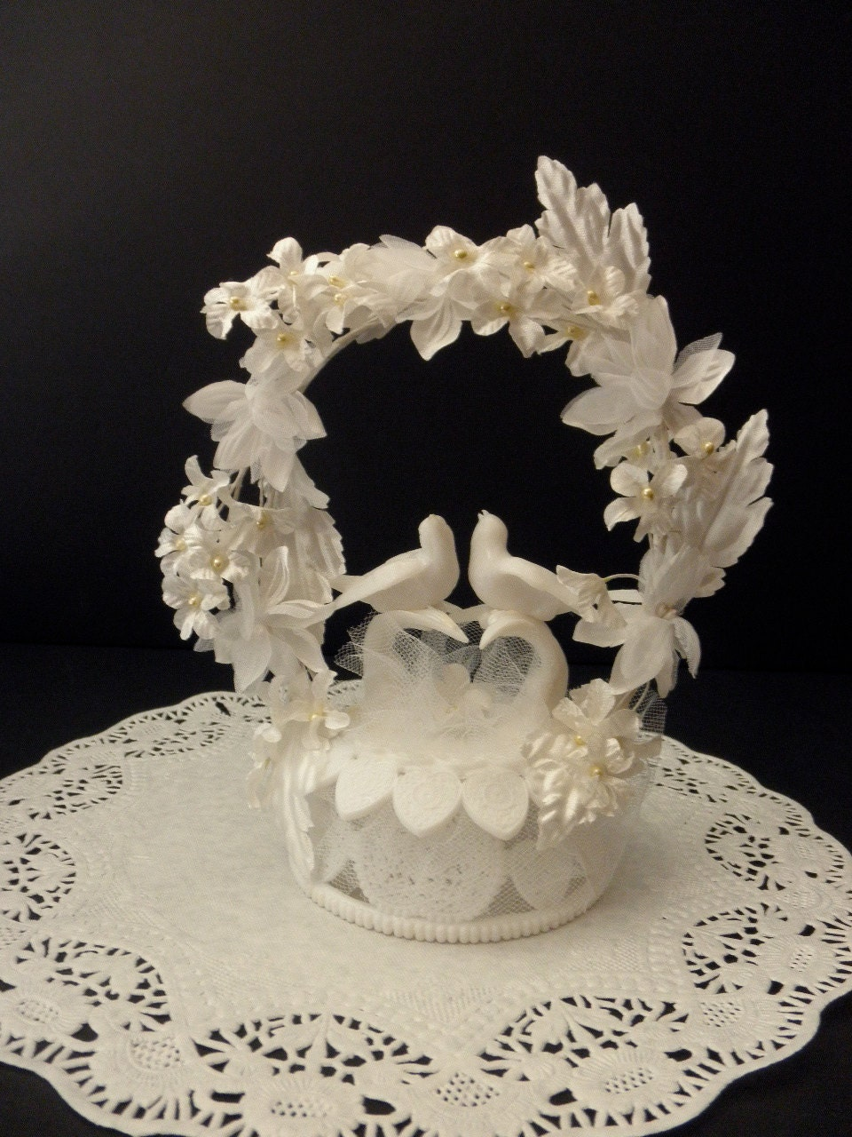 dove wedding cake toppers reserved vintage wilton wedding cake topper doves 13713