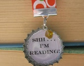 "Snarky Bookmark - ""Shh . . . I'm Reading"""