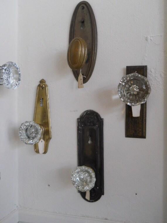 Upcycled Vintage Door Knob Coat Hook Hanger