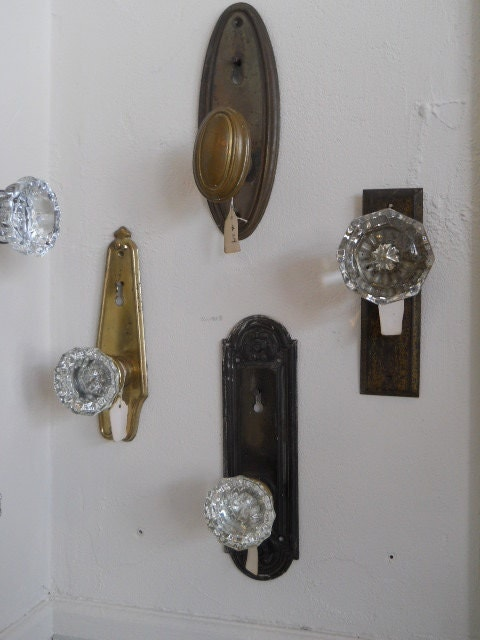Upcycled Vintage Door Knob Coat Hook Hanger