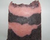 Chocolate Dipped Strawberry Soap with Shea and Mango Butter