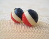 Candy Antique Button Earrings