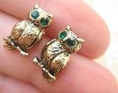 Owl StusEarrings - reserved for HAWKlNS1
