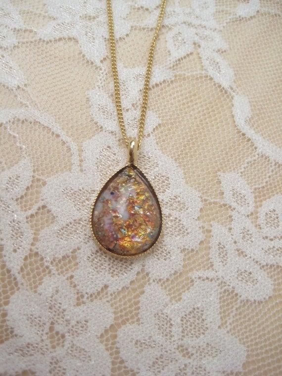 Vintgae Opal Necklace