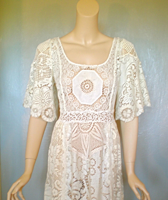 Vintage Crochet Dresses