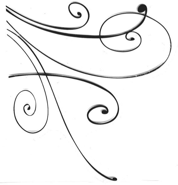Fancy Swirl Flourish - swirl - fancy
