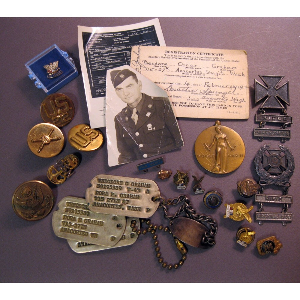 Antique military medals for sale