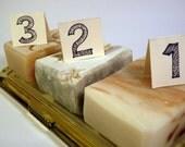 Any Three Bars of Soap for 20 dollars