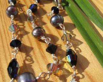Black Crush Necklace