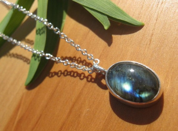 Labradorite Shimmer Necklace