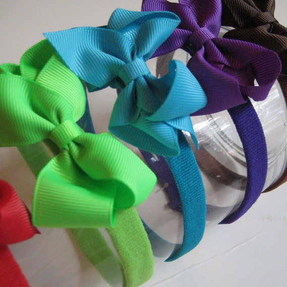 CLOSEOUT 2 Bow headbands