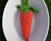 Carrot Veggie Rattle - Reserved for mkc2010
