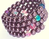 Eye Candy XXXXI Glass Pearl  Bracelet with Complimentary Shipping