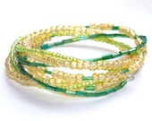 10/10/10 Sale! 30% Off! Sunny Days Rolling in the Grass Braided Wire Cuff