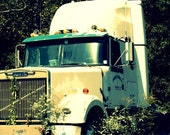 Country Road Big Rig 8x10 Fine Art Photograph