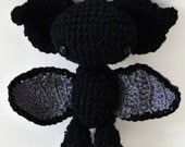 Amigurumi pattern Luna the bat INSTANT DOWNLOAD
