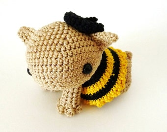 Amigurumi Pattern Lynnie - the little bee INSTANT DOWNLOAD