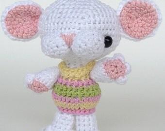 Amigurumi Pattern Minou - the mouse - INSTANT DOWNLOAD