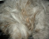 Angora Rabbit Fiber (1 oz.) - Ginger tipped cloud