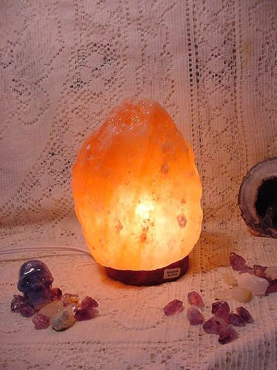 Salt Crystal Lamps Healing : Himalayan Crystal Salt Lamp Air purifying healing energizing