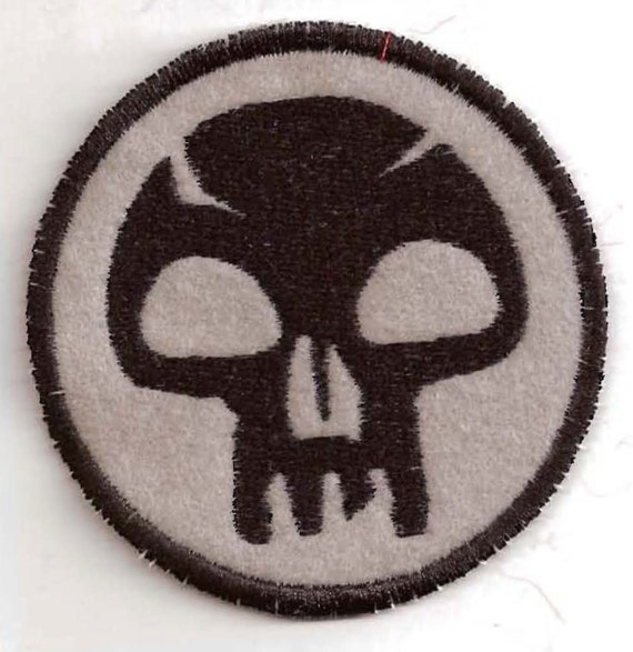 RESERVED for Etsy user dragonmaiden84: Black Mana Patch