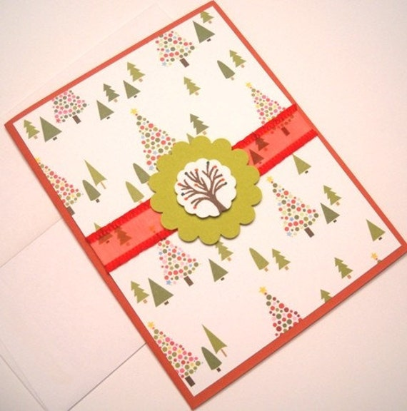 Holiday Card - Fancy Trees