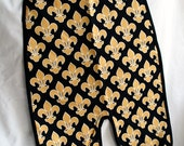 Full Body Bib - Fleur de Lis / New Orleans Saints