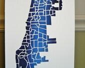 BLOWOUT SALE CHICAGO Original Map Print