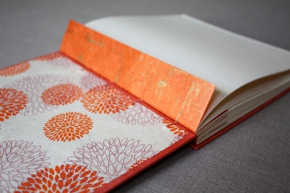 RESERVED for Anna and Troy: Custom wedding guest book