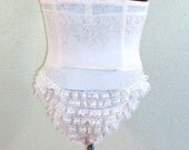 RESERVED High Waisted Ruffle Panty (size S/M)